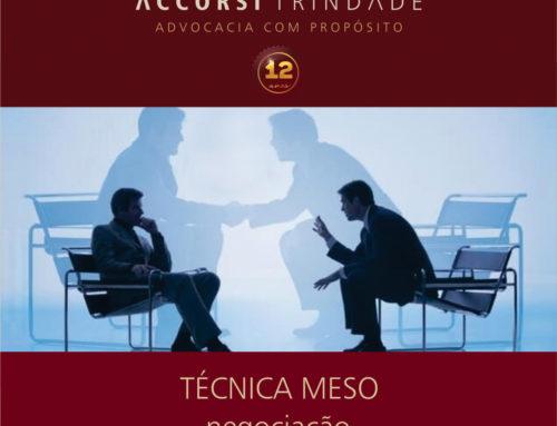 A técnica MESO na negociação