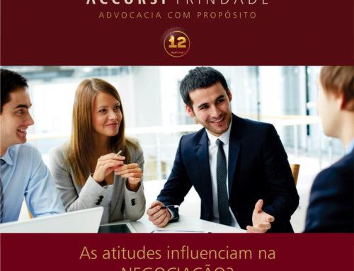 As atitudes influenciam em uma negociação?